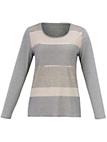 Samoon - Le T-shirt rayé brillant