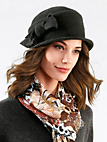 Seeberger - Le chapeau en pure laine vierge