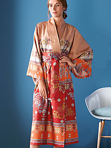 Bassetti - Le kimono Mouassine en satin Mako avec ceinture