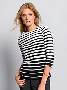 Bogner - Le T-shirt en pur coton manches 3/4 ligne cintrée
