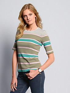 Bogner - Shirt met ronde hals en verlengde korte mouwen