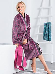 Cawö - Le peignoir en velours style kimono
