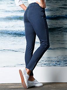 DAY.LIKE - Le jean à imprimé pied-de-poule