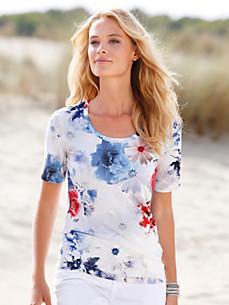 Efixelle - Le T-shirt à encolure dégagée