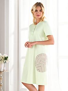 Féraud - La chemise de nuit à manches courtes en coton