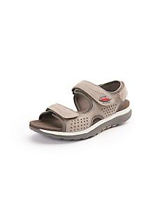Gabor - Les sandales en cuir nubuck de veau à brides