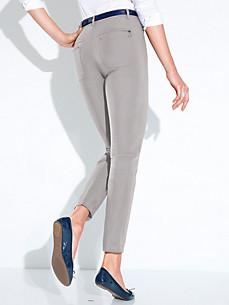Gardeur - Enkellange broek. Model DINA 2 SLIM.