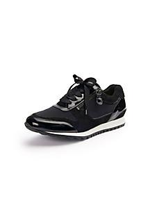 Hassia - Les sneakers en cuir avec lacets et zips