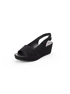 Högl - Les sandales en cuir velours