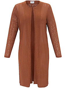 JUNAROSE - La longue veste en maille