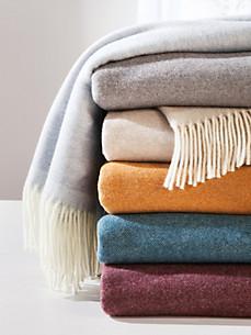 Lanerossi - Le plaid en laine vierge et cachemire, 130x180cm