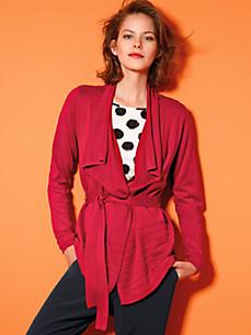 Looxent - La veste en maille ligne fluide et décontractée