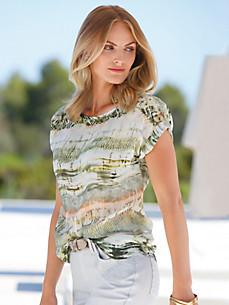 Peter Hahn - Le T-shirt-chemisier 100% coton
