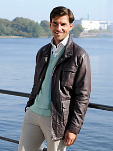 Peter Hahn - Leren jack