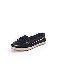 Peter Hahn - Les sandales en cuir velours de chèvre