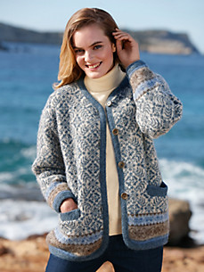 SAGA - La veste en pure laine vierge