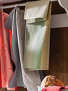 Sander - Le lot de 2 torchons en pur coton