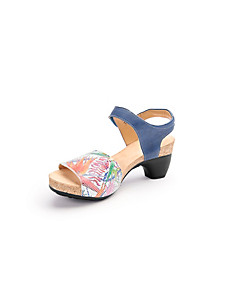 Think! - Les sandales à plateau en cuir - modèle Traudi
