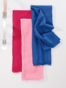 Uta Raasch - L'écharpe à franges en soie et cachemire