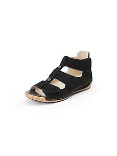 Waldläufer - Les sandales en cuir nubuck