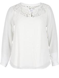 zizzi - Dubbellaagse blouse