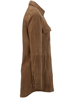 Anna Aura - Leren blouse