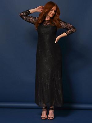 Anna Scholz for sheego - La maxi robe en dentelle