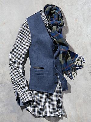 Carl Gross - Mouwloos jasje