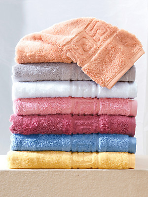 Cawö - Le lot de 2 petites serviettes, 30x50cm