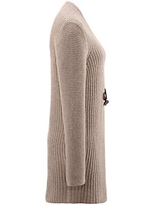 Daddy´s Daughters - La veste longue en maille 100% cachemire
