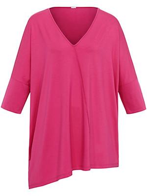 Emilia Lay - Le T-shirt . Col V et manches 3/4