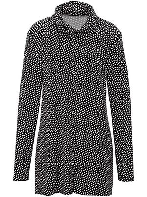 Emilia Lay - Shirt met afstaande col