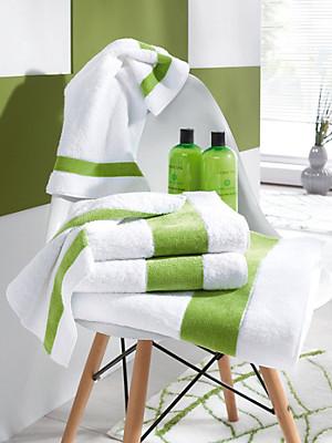 Feiler - Le drap de douche en pur coton, env. 70x150cm