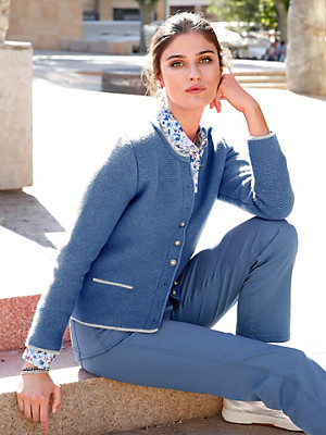 Giesswein - Le cardigan en pure laine vierge