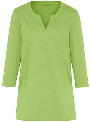 Green Cotton - Le T-shirt à manches 3/4