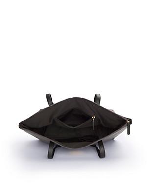 L. Credi - Le cabas zippé en nylon
