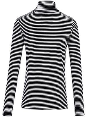 LIEBLINGSSTÜCK - T-shirt col roulé finement rayé