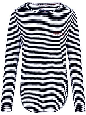 LIEBLINGSSTÜCK -  T-shirt rayé et brodé