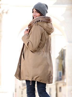 Looxent - La parka avec capuche aspect fourrure