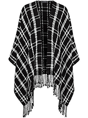 Looxent - Le poncho 100% laine vierge