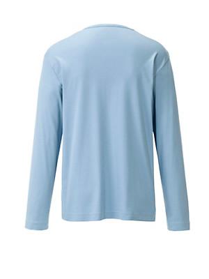 Mey - Pyjamashirt met lange mouwen