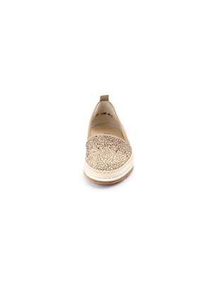 Paul Green - Les mocassins en doux cuir nubuck de chevreau
