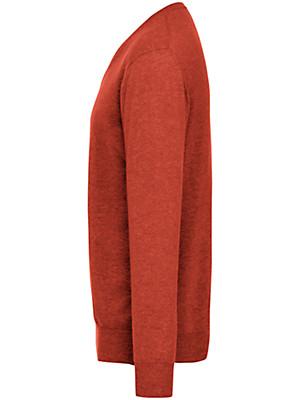Peter Hahn Cashmere - Pullover met V-hals van 100% kasjmier