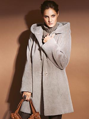 Peter Hahn - Jas met capuchon in swaggermodel