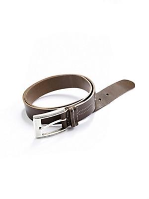 Peter Hahn - La ceinture en cuir nappa