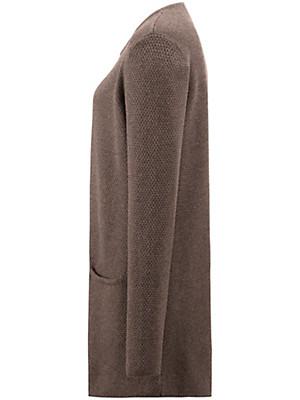 Peter Hahn - La longue veste en maille