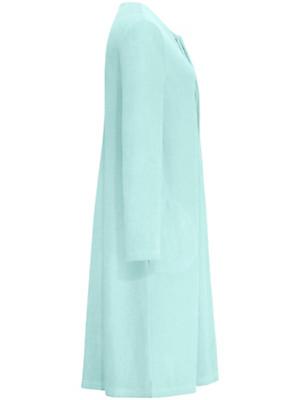 Peter Hahn - La robe de chambre en éponge boutonnée