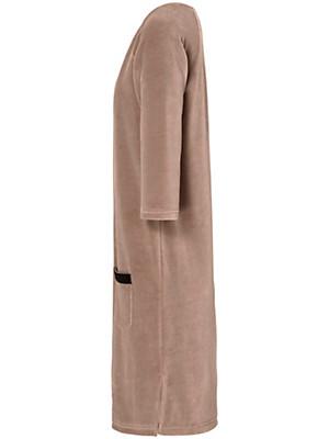 Peter Hahn - La robe en velours ras