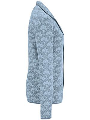 Peter Hahn - Le blazer en maille pur coton