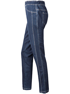 Peter Hahn - Le jean en denim molletonné